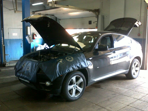 СТО по ремонту BMW x6